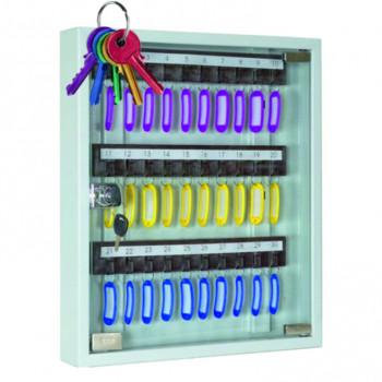 Ключница со стеклянной дверкой
